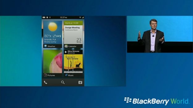 A Look at BlackBerry 10