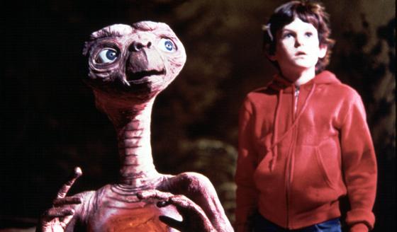 E.T. Gets His Guns Back