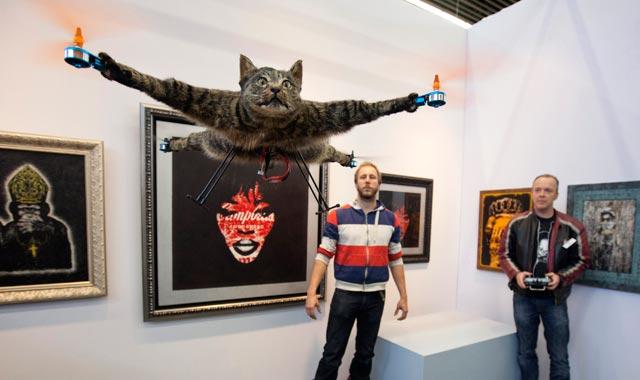 The Super Di Duper Magical Cat Flying Machine