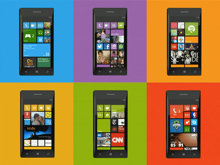 Windows Phone 8: HTC, Nokia and Samsung