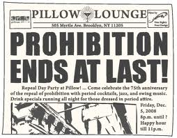 Is This (The Beginning Of) The End Of Prohibition?