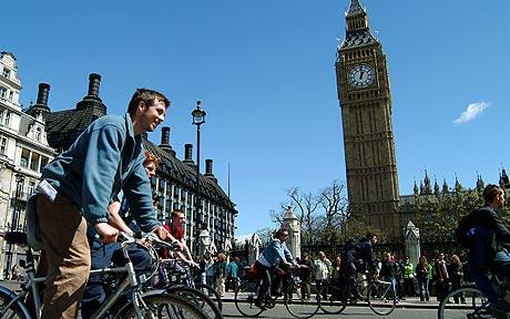 Delay in London Cycling Initiative