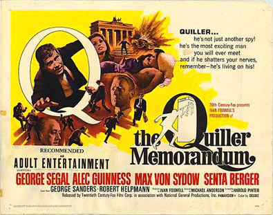 Film Review: The Quiller Memorandum